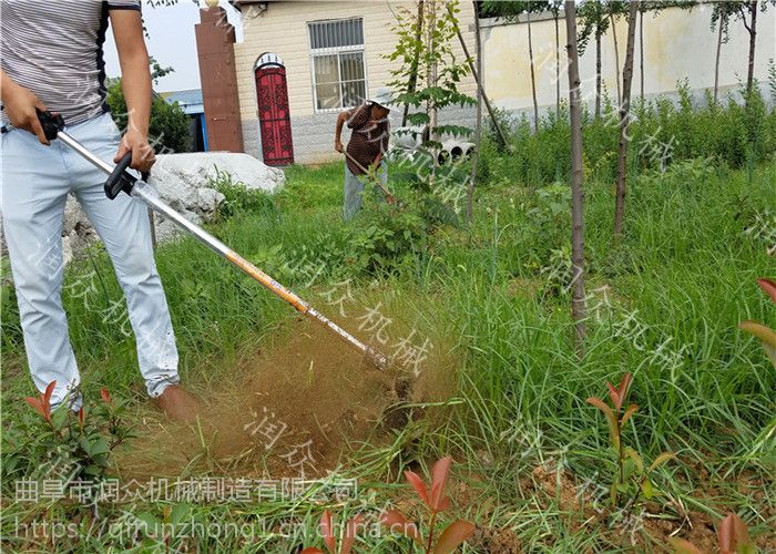 果园专用背负式旋耕机 二冲程侧挂式旋耕机