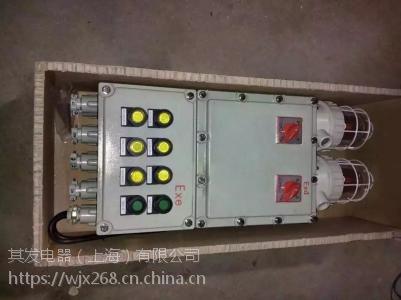防爆控制箱两回路 BXMD32A/2P配电箱 2路防爆照明配电箱EXdeIIBT4 WF1 IP54