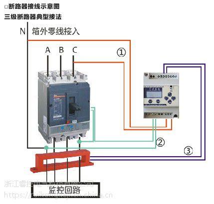 睿控电气RK-FPS型剩余电流电气火灾监控探测器