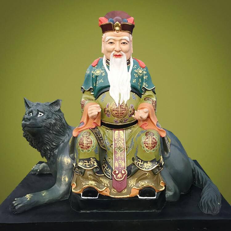 山神爷佛像批发 山神奶奶神像雕塑