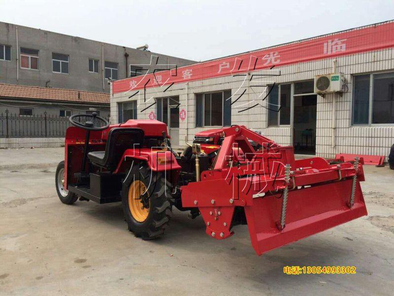供应三缸30马力小四轮拖拉机 农发农用爬山果园管理机 微型旋耕机图片