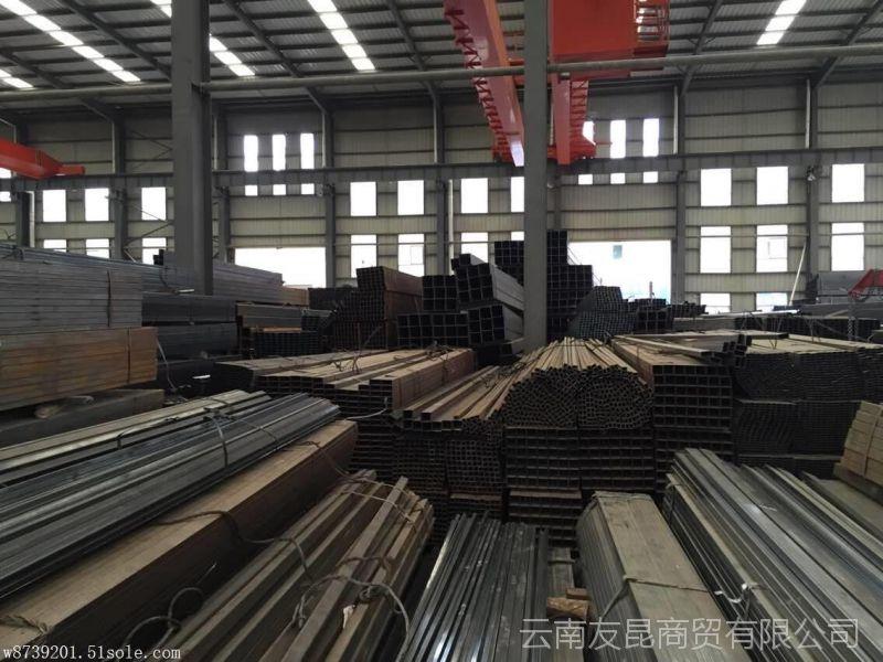 云南方管价格便宜 昆明钢材直销