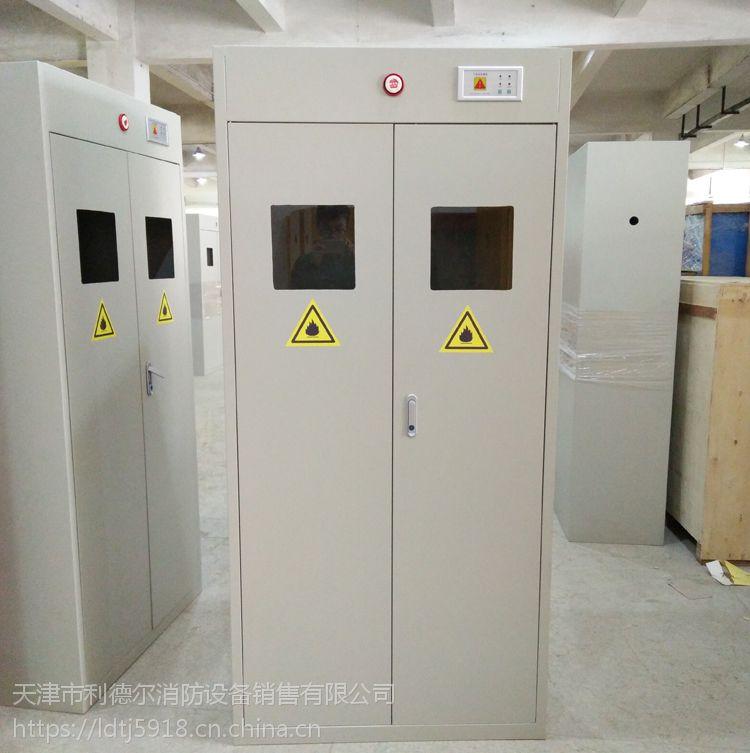 单位气瓶柜 国企研究院全钢气柜 LQ-020 气瓶柜抱箍
