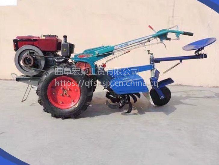 小型手扶自走式旋耕机 手扶犁地机 旋耕机