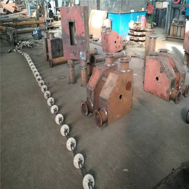 六九重工 管链输送机厂家 松滋市 不锈钢链条推动上料机 管链机 食品粉末输送机