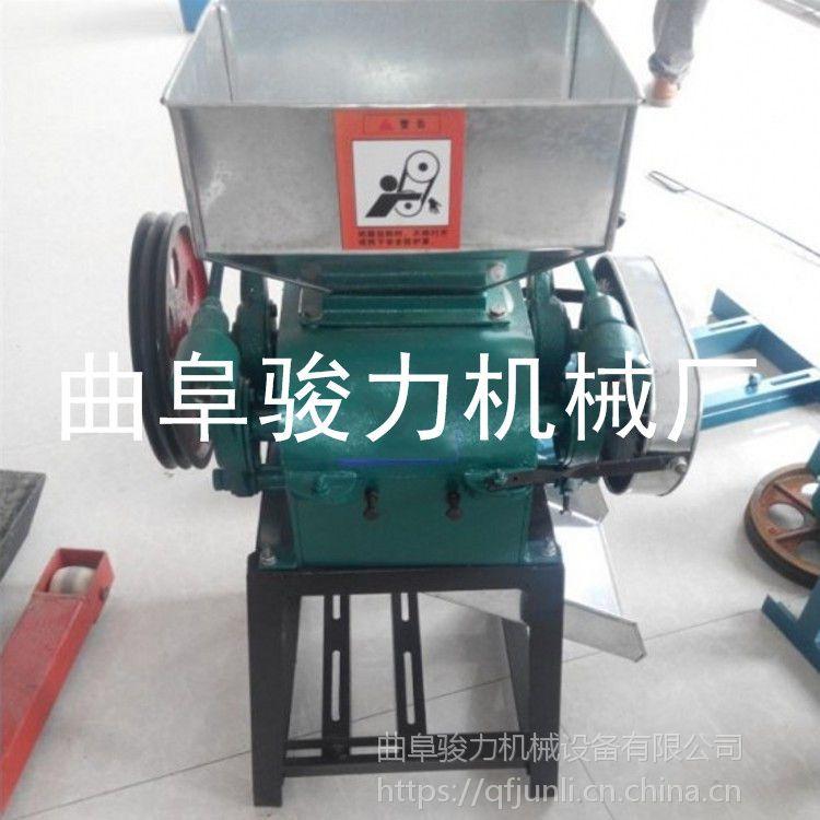 骏力 加工定做 花生米破碎机 黄豆扎扁机 大米杂粮破瓣机