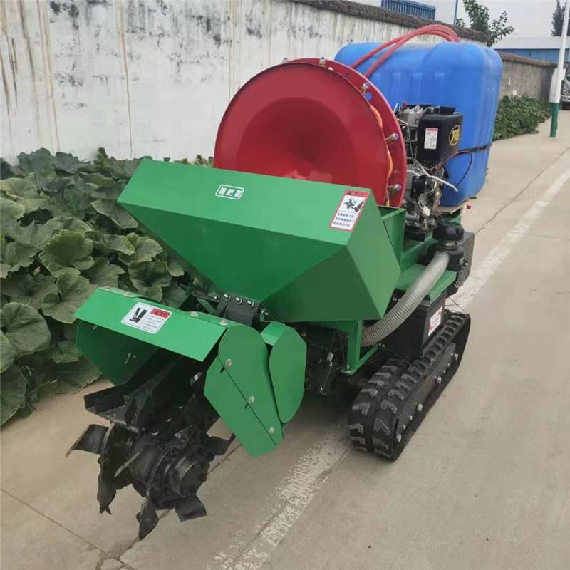 农用小型耕地开沟机 启航10马力农用施肥回填机 果园犁地松土机