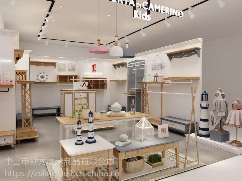 厂家定制各种服装展示柜展示架