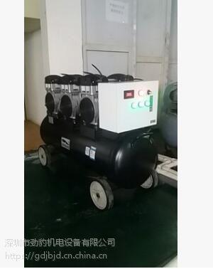 静安劲豹无油空压机功率4500w 噪音50分贝气桶容量120L排气量615L/MIN空压机