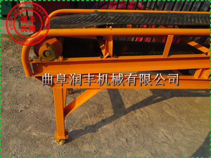 物料皮带输送机 食品级皮带输送机型号润丰专业制造多型号传送带