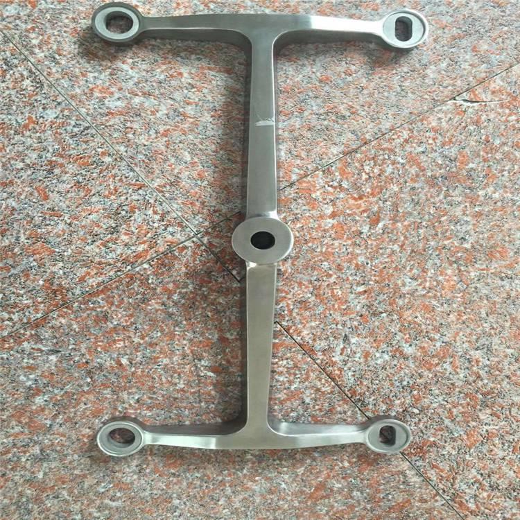 耀恒 厂家直销 304不锈钢驳接爪 90度三爪驳接件SZ654 点式玻璃幕墙爪