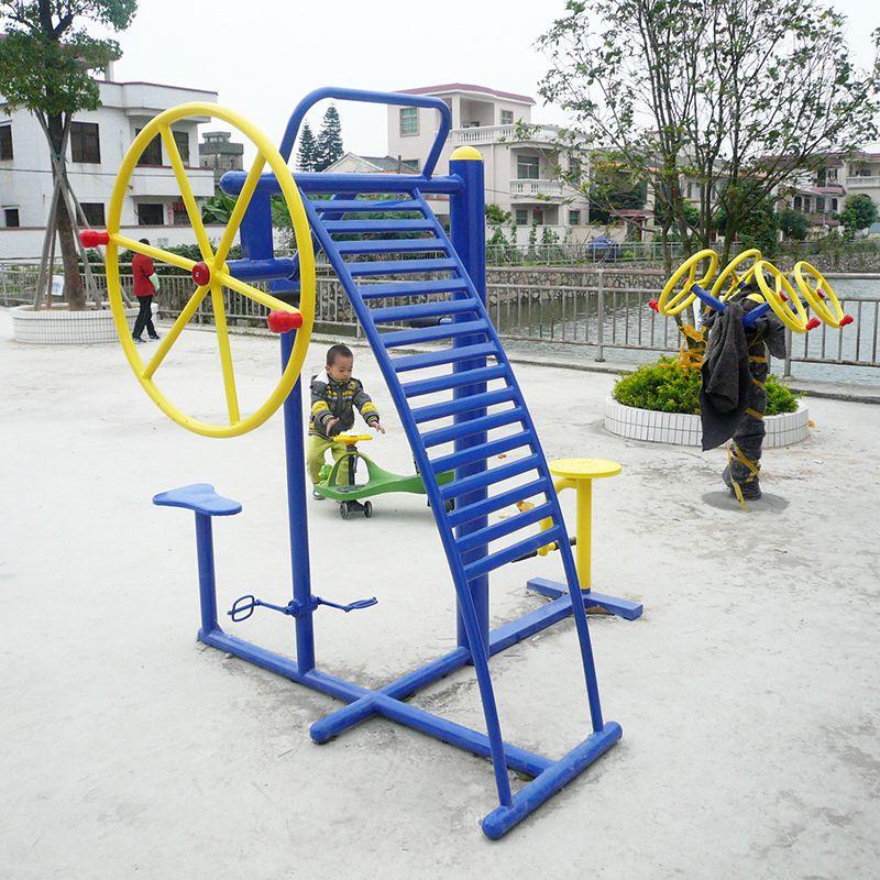 福田区健身广场锻炼器材 室内114管健身设备教学 漫步机送货安装