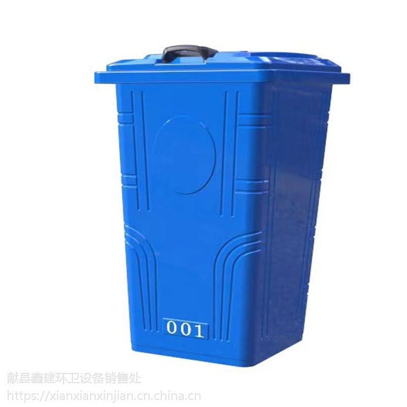 铁质铁制镀锌板垃圾桶 铁质挂车桶 生产厂家
