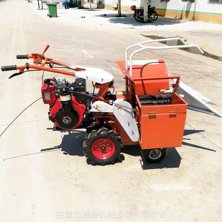 农用收割玉米机 批发生产小型收货机