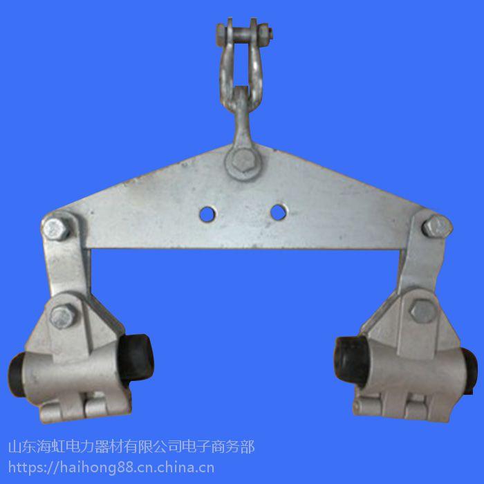 ADSS光缆用预绞式双悬垂线夹海虹双联双串悬垂金具