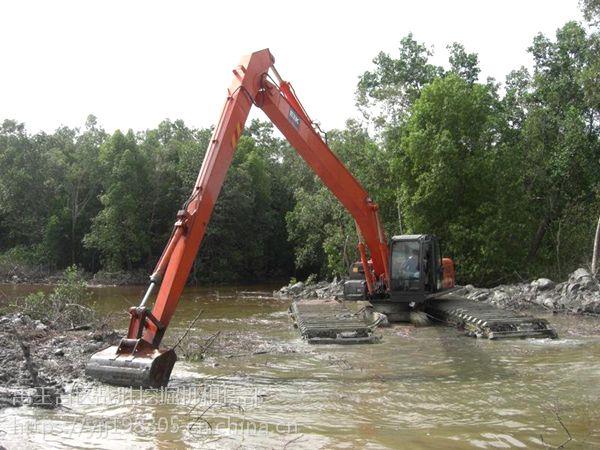 英德斗山215-9水上挖掘机租赁