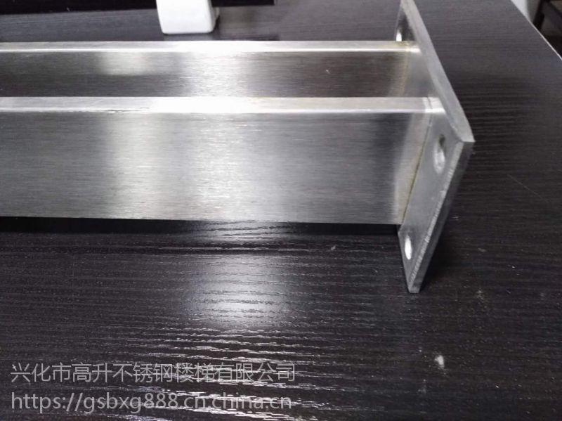 特价 高升不锈钢双片立柱 现货夹玻璃立柱 不锈钢空心工程家用