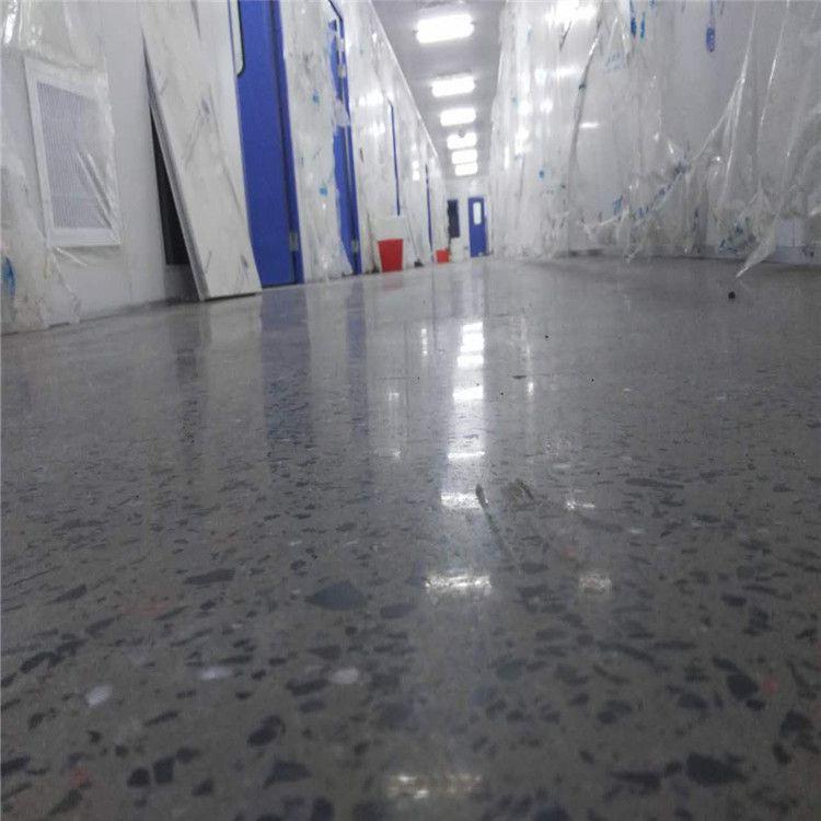 东莞耐磨地坪施工队-黄江金刚砂起灰处理-硬化