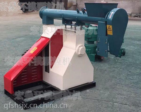 联轴器颗粒饲料机 饲料颗粒机价格 秸秆饲料机械
