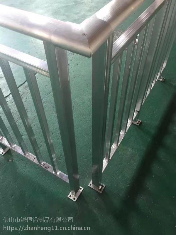 2018年新款铝型材阳台栏杆加工厂