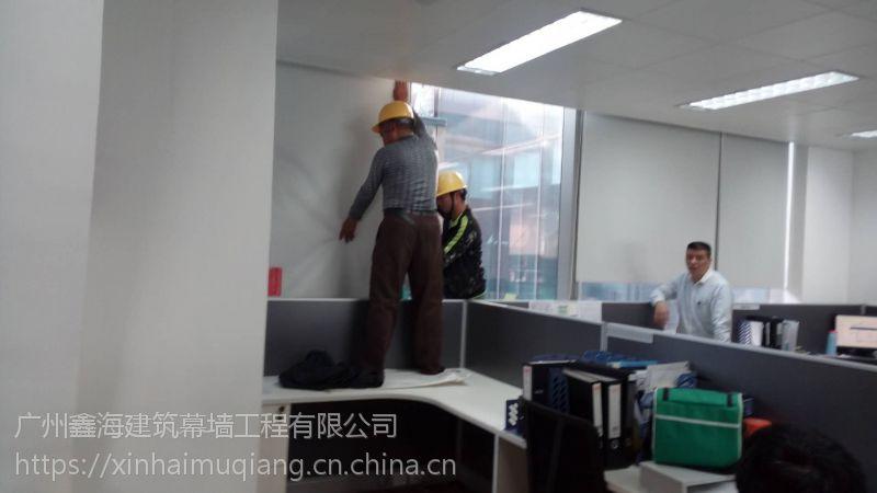 更换安装维修隔音玻璃幕墙/工程施工厂家
