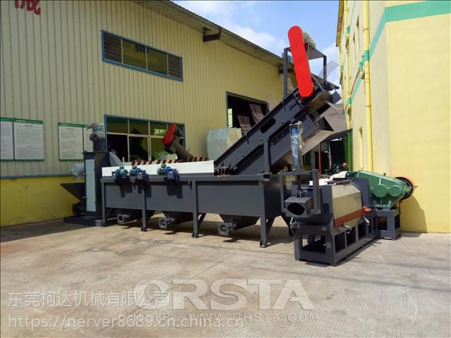 CRSTA发货广州废旧尼龙水口破碎生产线Q140_尼龙废料清洗线