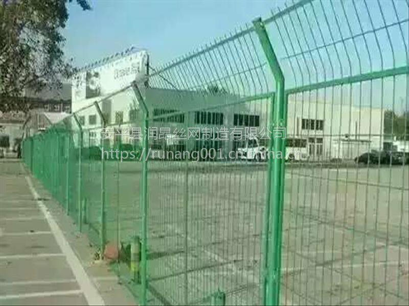 广西欧式别墅小区护栏网、低碳钢丝围栏网价格、锌钢护栏网、润昂现货
