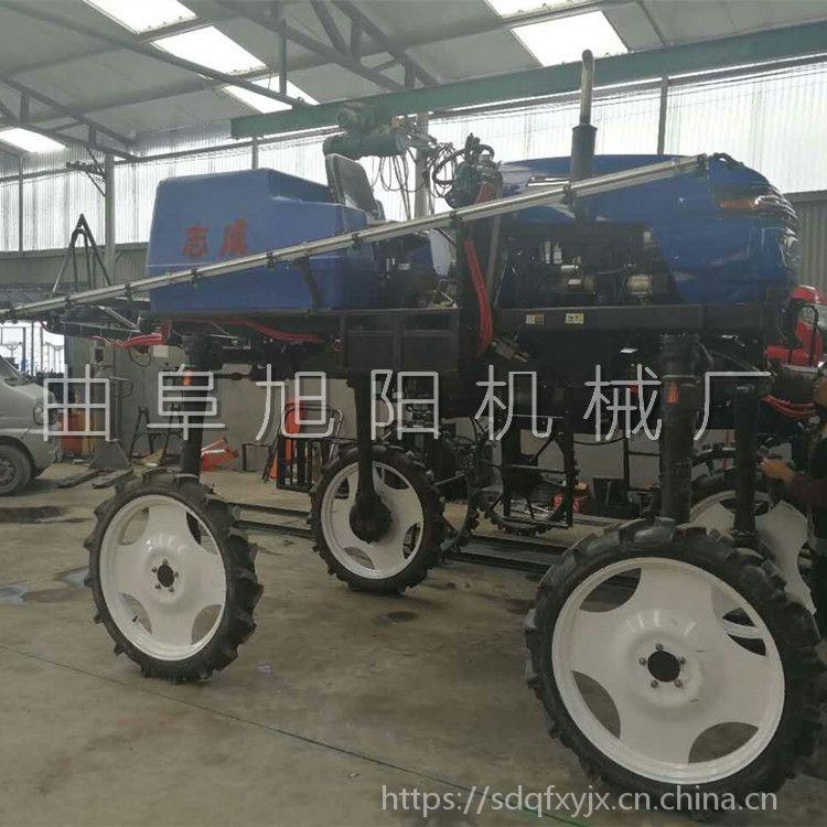 直销柴油四驱喷杆喷雾器农用大型打药机52马力杀虫喷药车
