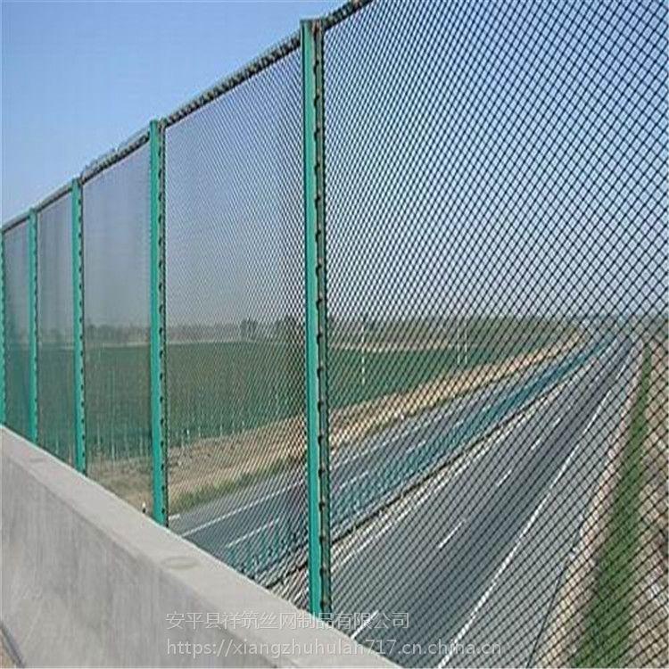 铁网围栏高速公路护栏网框架护栏防眩网定制安装