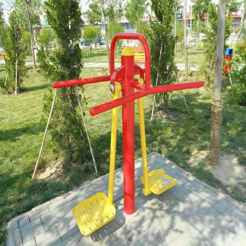 工厂价直销公园健身器材厂价直销,双人平步机健身器材批发价,批发