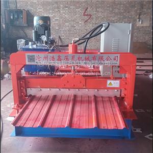 重庆专用墙面板设备 全自动数控900型彩钢压瓦机