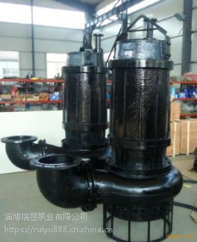 高效潜水河道清淤泵、耐磨泥砂泵、小功率泥浆泵(中国泵城)淄博瑞昱泵业直供