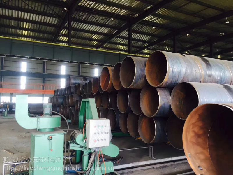 山东临清Q235B螺旋钢管大量现货