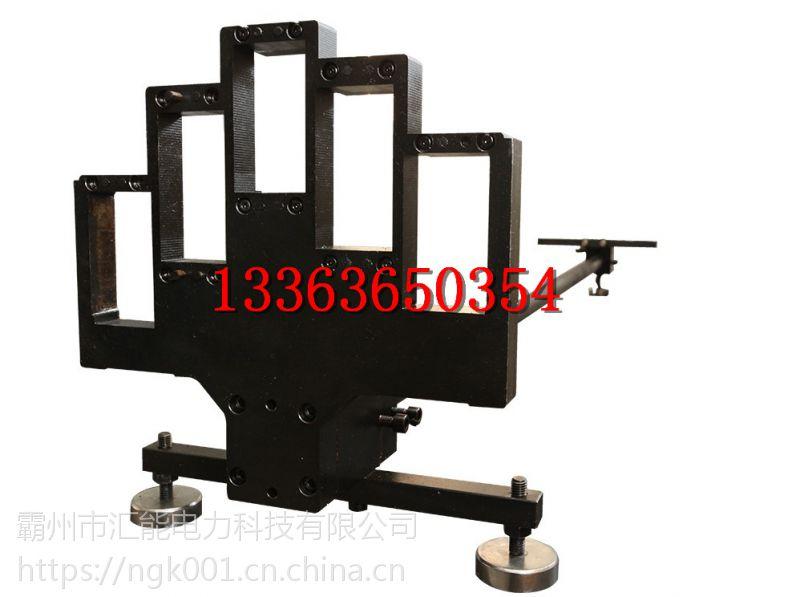 铁路轨距检定器 全能轨距尺标准器 汇能