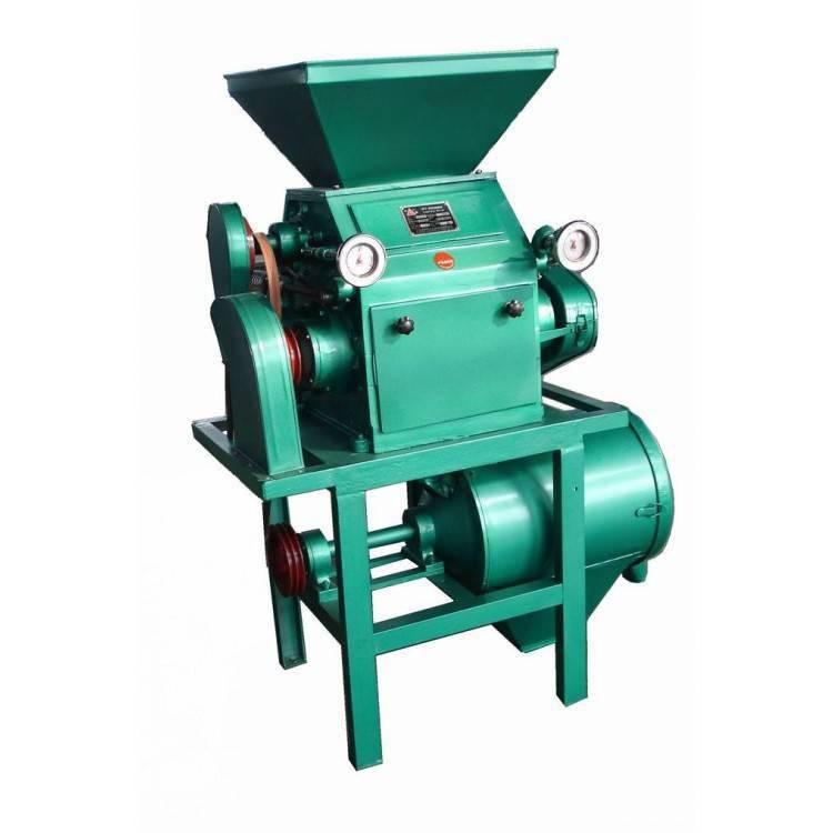 信达直销粉质细腻玉米磨面机 多功能立式对辊脱皮打面机磨粉设备