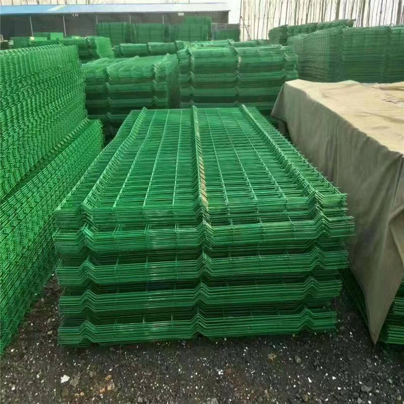 小区防护网 绿色防护网 防盗围墙网