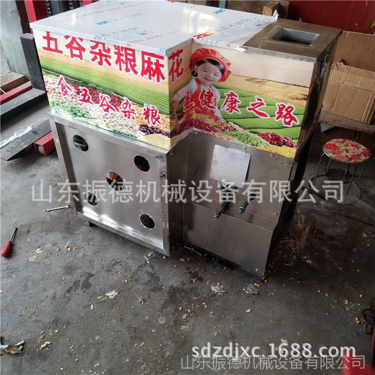 七用膨化机振德设备 大豆膨化机 车载大米麻花机