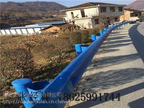 .厂家直供 高速护栏板 防撞护栏 二波形喷塑护栏板 镀锌波形