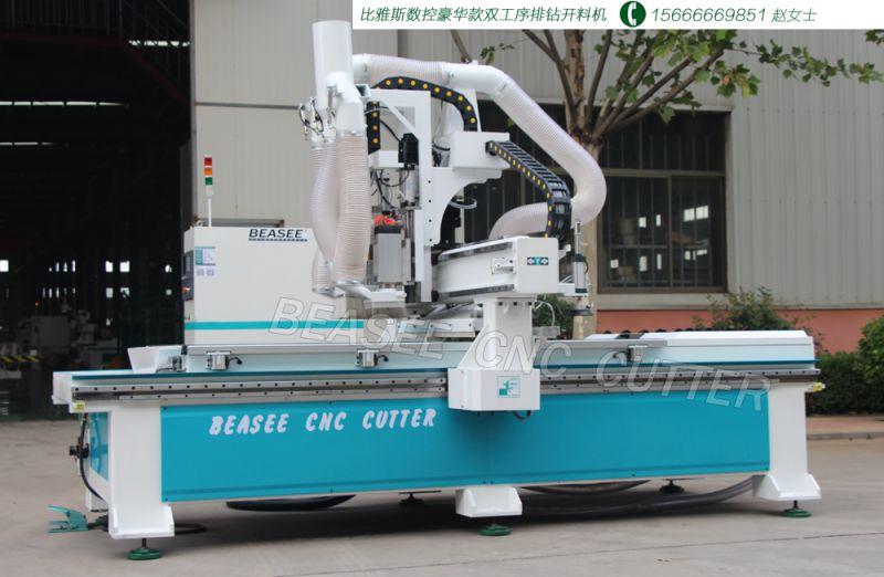 南京孔料一体雕刻机 板式家具数控开料机