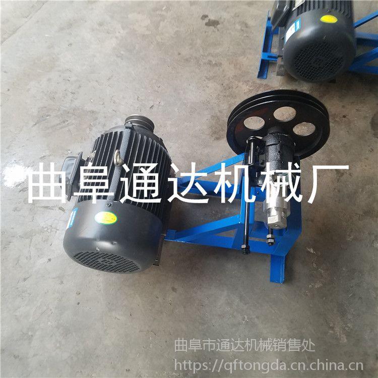 邯郸 五谷杂粮膨化机 新型家用膨化机 空心棒专用机器 通达牌