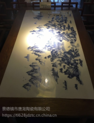 景德镇陶瓷瓷版画, 客厅装饰画