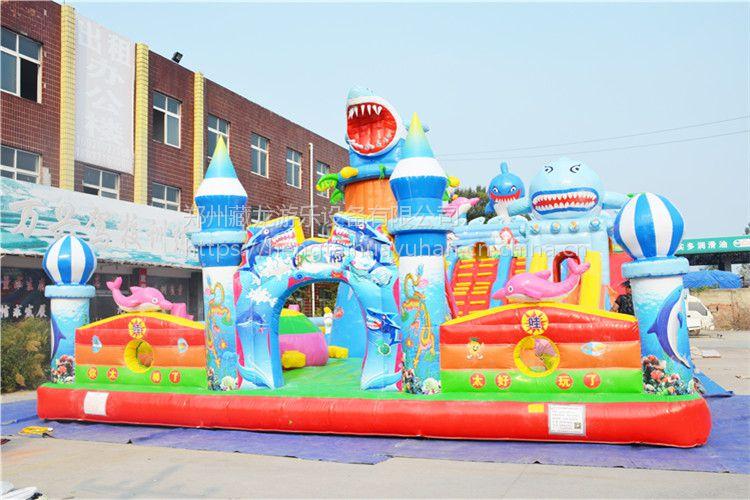 充气气模汽包能定制图案吗 熊出没新款孩子玩的蹦床 大型充气娱乐床城堡