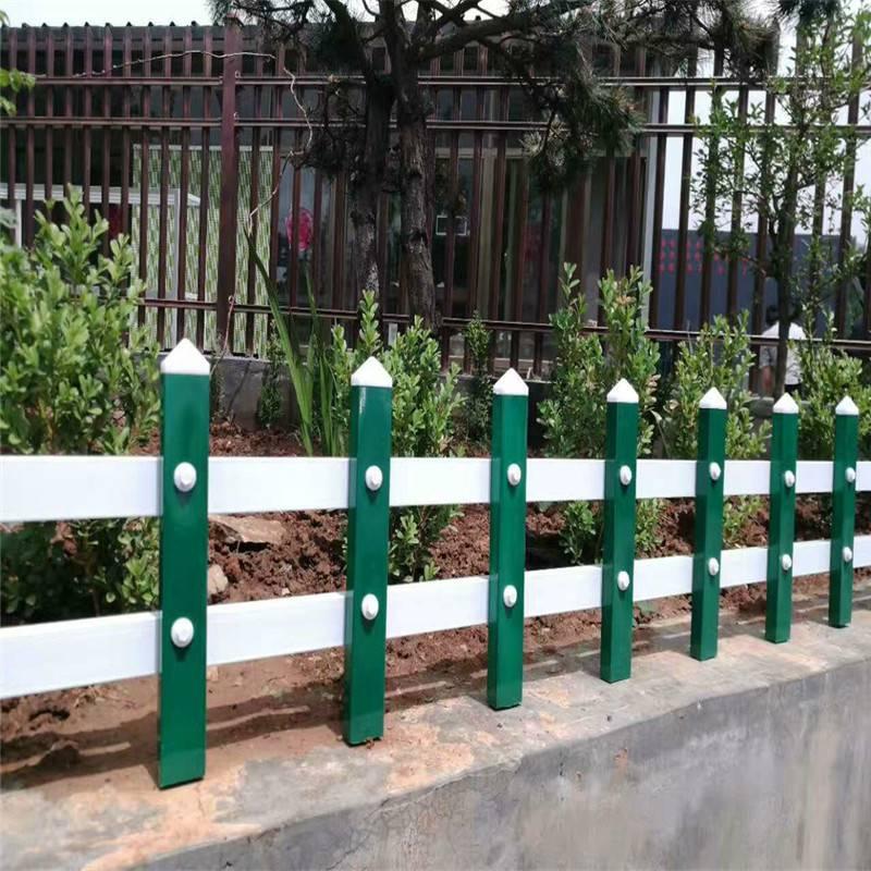 PVC低矮型护栏 风景区美化小栏杆 城市外环建设小护栏