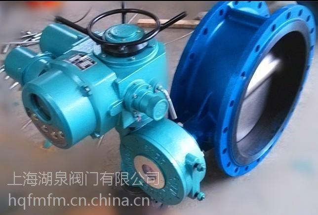 涡轮蝶阀,大口径电动阀 电动涡轮蝶阀 d943h-10c dn600图片