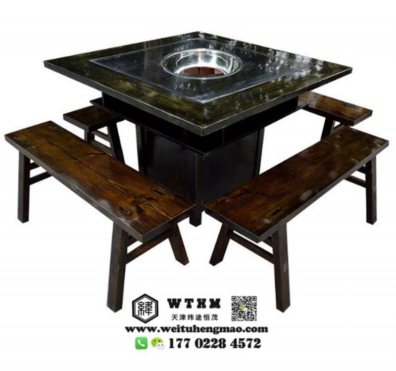 天津松木餐桌椅 松木桌椅定做 松木餐桌椅定制
