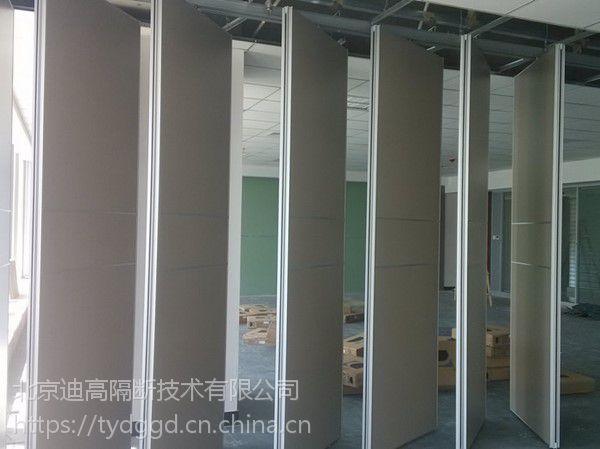 运城办公隔断 酒店移动折叠门 pvc展厅旋转隔板