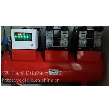 长宁劲豹无油空压机气桶容量200L功率6000W转速1400rpm节能型静音无油空压机