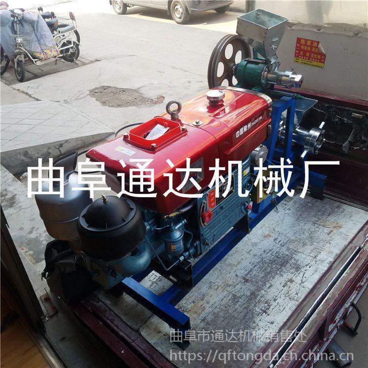 五谷杂粮江米棍机 大米膨化机 通达热销 柴油架势玉米膨化机 视频
