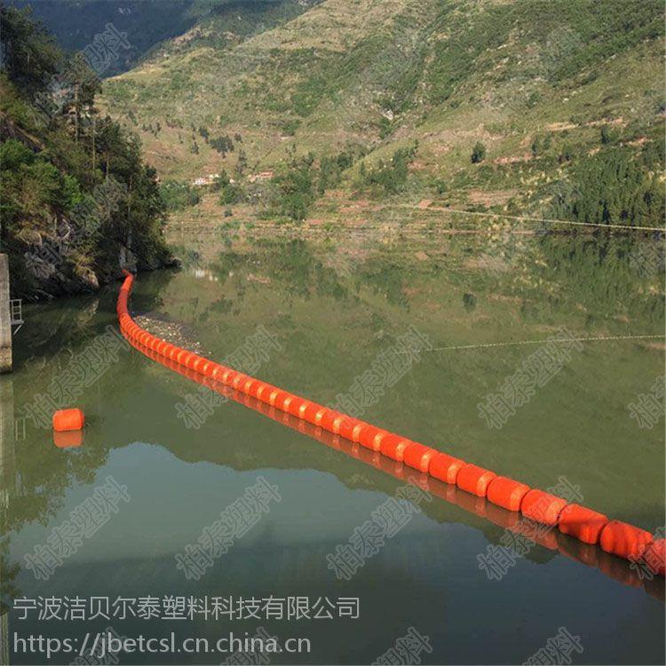 水库拦污装置拦截网浮筒厂家