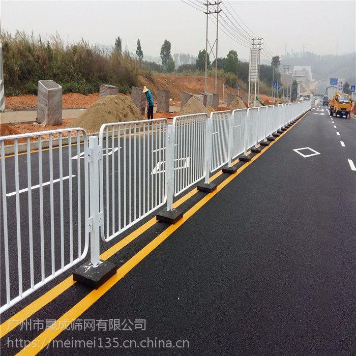 安装方便 陵水景区防撞护栏 三亚人行道隔离栏 港式护栏杆低价 晟成